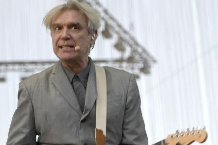 David Byrne of Talking Heads. Picture: Frazer Harrison/Getty Images for Coachella