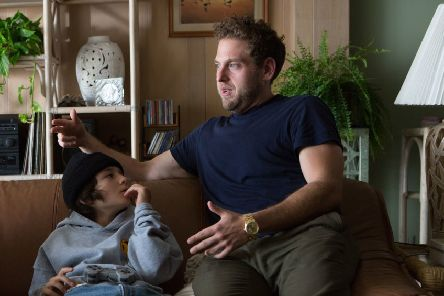Pictured: (L-R) Sunny Suljic as Stevie and director Jonah Hill. Picture: PA Photo/Altitude Films/Tobin Yelland