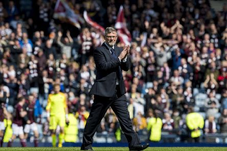 Hearts manager Craig Levein. Pic: SNS/Alan Harvey