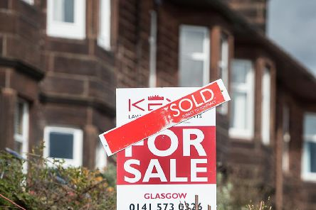 Average house prices in Scotland have fallen