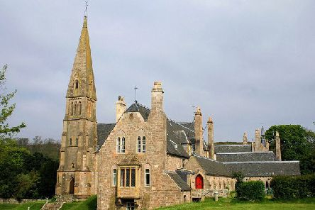 The Cathedral of the Isles in Millport