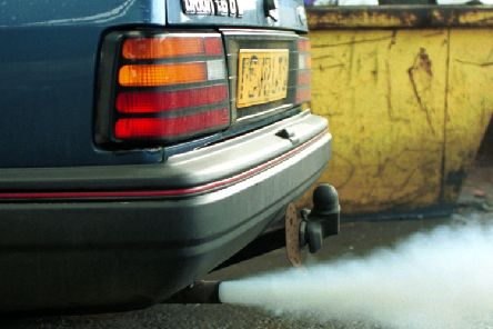 Vehicle emissions cause air pollution