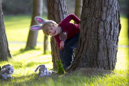 Almost 40,000 Easter eggs will be hidden at Scotland's historic National Trust for Scotland properties this weekend. PIC: Contributed.