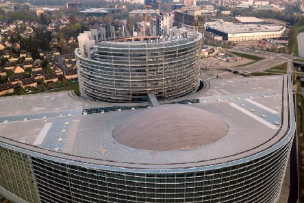 The European Parliament in Strasbourg. Picture: AFP/Getty Images