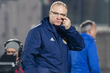 Scotland's laboured 2-0 win over lowly-ranked San Marino did little to lighten Alex McLeish's load. Picture: Alan Harvey/SNS