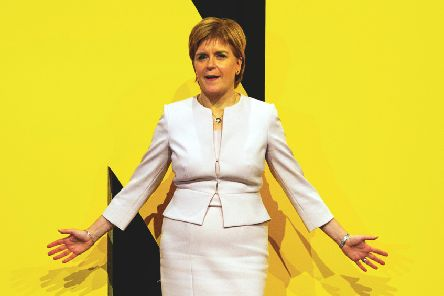 Nicola Sturgeon considers the result of the Brexit referendum a material change in Scotland's circumstances. Picture: Duncan McGlynn/Getty