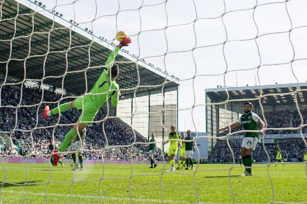 Ofir Marciano produced a number of top-drawer saves to deny Celtic. Picture: SNS Group