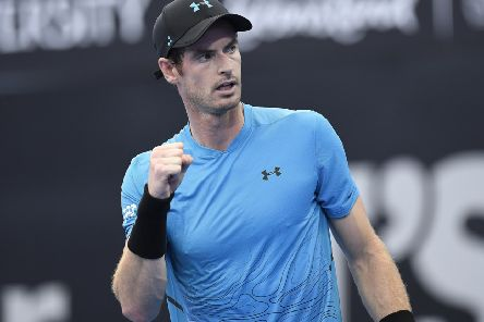 Andy Murray is recovering from a hip operation. Picture: Getty