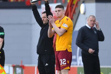 Motherwell winger Jake Hastie. Picture: SNS