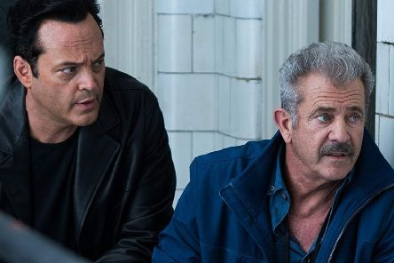 Vince Vaughn and Mel Gibson in Dragged Across Concrete