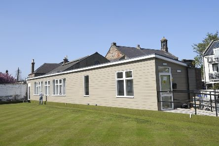 The new clubhouse at Inveresk Bowling and Social Club, where they have said they are not allowing parties for birthdays for those under 40 years old. Pic: Greg Macvean