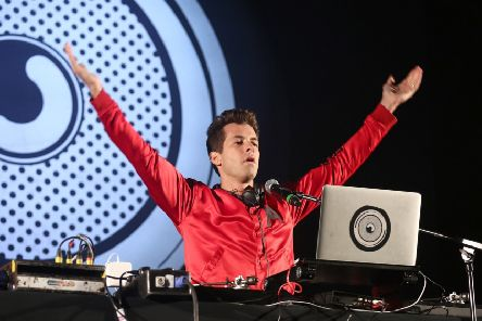Mark Ronson's new album will be the first major release on 8-track tape since 1988. Picture: Tim P. Whitby/Getty Images