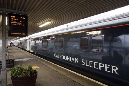 The new Caledonian Sleeper will begin the run from Edinburgh to London and back on Sunday. Picture: contributed