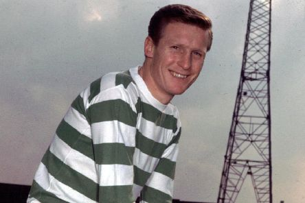 Billy McNeill in 1967. Picture: SNS