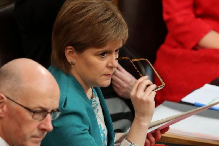 Nicola Sturgeon will address MSPs at Holyrood