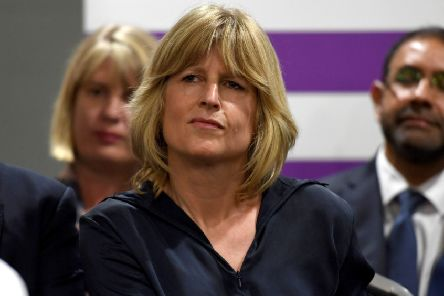 Rachel Johnson is to stand as European election candidate for the pro-remain party Change UK. (Photo by Finnbarr Webster/Getty Images)