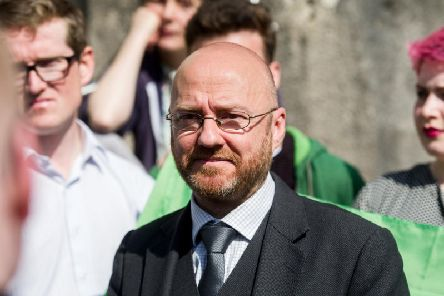 """Patrick Harvie has been accused of misogyny for sharing a blog which described a female MSP as a """"w*****""""."""
