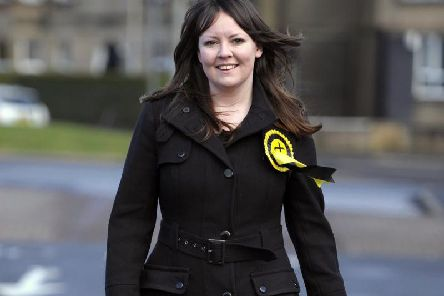 Natalie McGarry was elected as an MP in 2015.