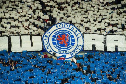A general view of Rangers fans. Picture: SNS Group