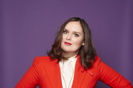 Deborah Frances-White, the woman behind The Guilty Feminist podcasts, which have had 60million downloads in three years. Picture: Debra Hurford Brown
