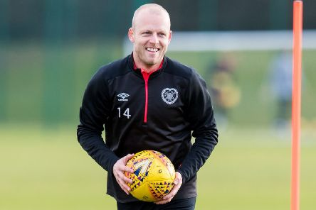 Steven Naismith says only the 'official stuff' remains before his Hearts deal is complete. Picture: SNS.