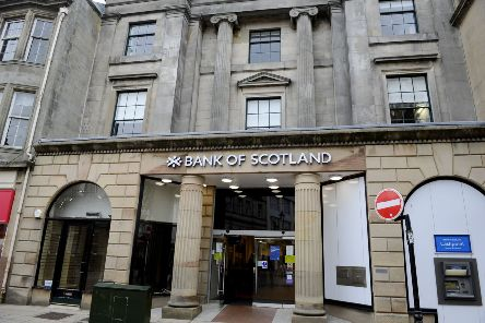 The Bank of Scotland owner also announced plans to pay quarterly dividends to shareholders from next year. Picture: Michael Gillen.