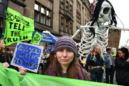 Colossal lies, such as those told about climate change, are a defining characteristic of our times (Picture: Jeff J Mitchell/Getty Images)