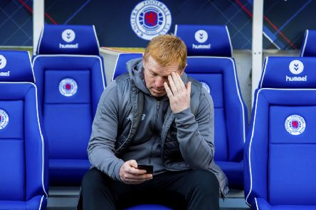 Ibrox defeat is the one blemish on 'Neil Lennon's return to Celtic. Picture: Craig Foy/SNS