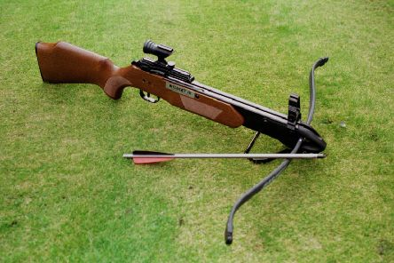 A man was allegedly shot with a crossbow in Bathgate on Thursday. Picture: TSPL