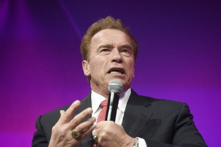Schwarzenegger, 71, the former governor of California, was in South Africa attending the Arnold Classic Africa sporting event. Picture: TSPL