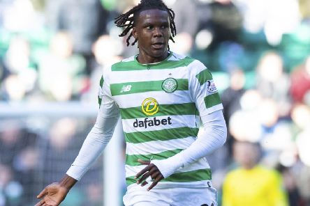 Dedryck Boyata in action for Celtic. Pic: SNS