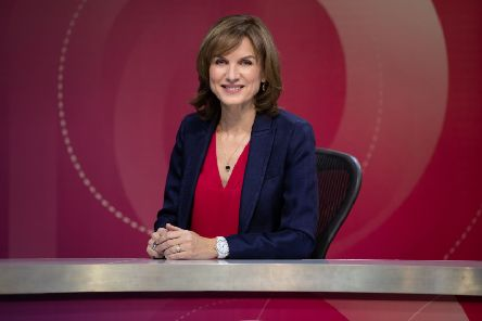 When Question Time host Fiona Bruce asked Elgin's SNP supporters to speak, just seven hands went up, says Lesley. Picture: BBC