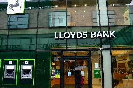 Bank of Scotland owner Lloyds Banking Group has unveiled plans to create 500. Picture: Flickr/www.moneybright.co.uk