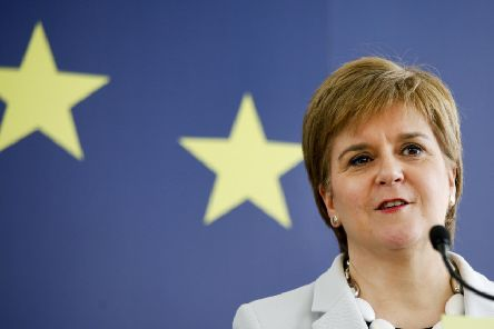 FM Nicola Sturgeon has warned over the effects of Brexit on Scotland's economy. Picture: TSPL