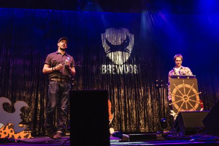 BrewDog's James Watt (left) and Martin Dickie. Picture: contributed.