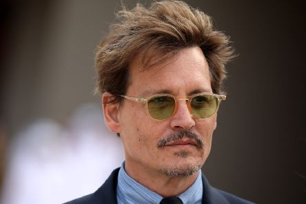 Hollywood actor Johnny Depp. Picture: Patrick Baz