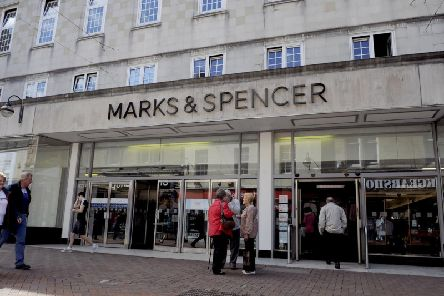 M&S has already closed several branches including its high street store in Falkirk. Picture: Michael Gillen