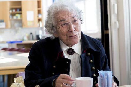 Author Judith Kerr. Picture: Christian Czako