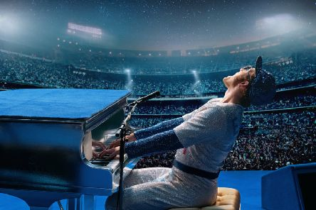 Taron Egerton as Elton John in Rocketman PIC: Paramount Pictures