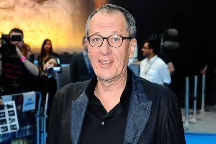 Geoffrey Rush arrives for the UK film premiere of Pirates of the Caribbean: On Stranger Tides, at the Vue Westfield in west London. PRESS ASSOCIATION Photo. Picture date: Thursday May 12, 2011. Photo credit: Ian West/PA Wire