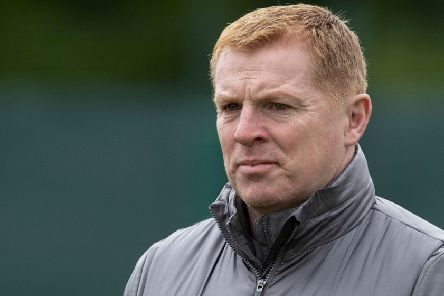 A pensive Neil Lennon oversees Celtic training ahead of the Scottish Cup final. Picture: Craig Foy/SNS