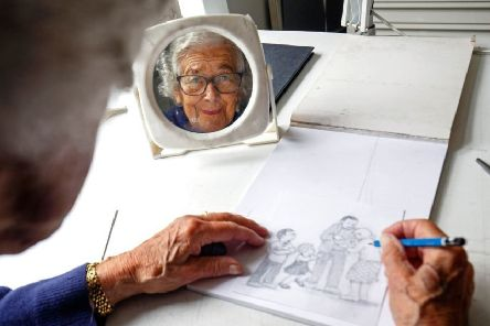Judith Kerr at her home in London in 2018 (Picture: Getty Images)