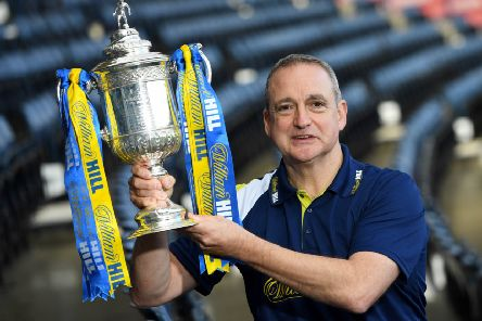 Paul McStay wants to see Celtic win a quadruple treble. Picture: SNS.