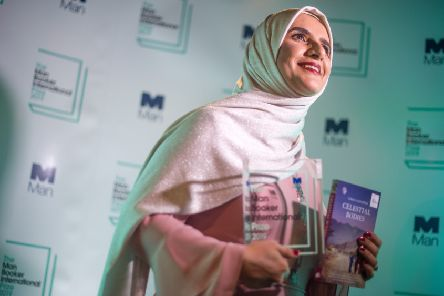 Jokha Alharthi at a photocall after winning the 2019 Man Booker International Prize. Picture: Peter Summers/Getty