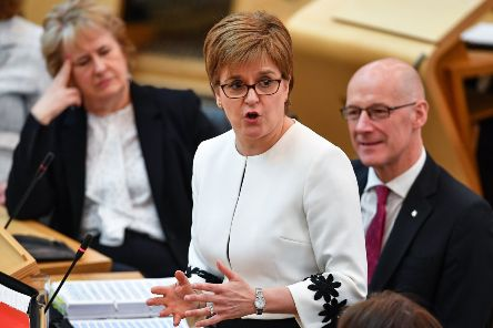 First Minister Nicola Sturgeon is to seek a section 30 order, which would give Holyrood the legal authority to stage a second referendum. (Photo by Jeff J Mitchell/Getty Images)