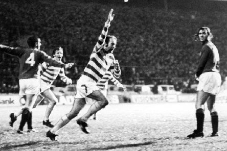 Celtic legend Harry Hood has passed away aged 74. Picture: PA