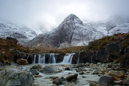 The Fairy Pools. Picture: Charlie Davidson