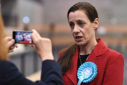 Annunziata Rees-Mogg has been elected as a MEP