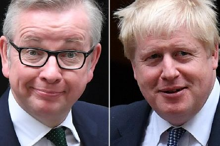 (Left to right) Michael Gove and Boris Johnson have both declared themselves as contenders to become the UK's next prime minister