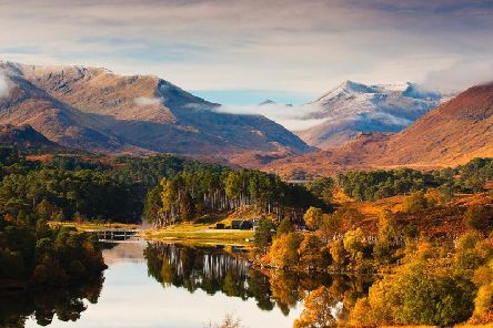 More than 22 million trees were planted in Scotland last year to help deal with the climate change emergency. Pictured is Glen Affric, which is managed by Forestry Scotland. PIC: Colin Leslie.